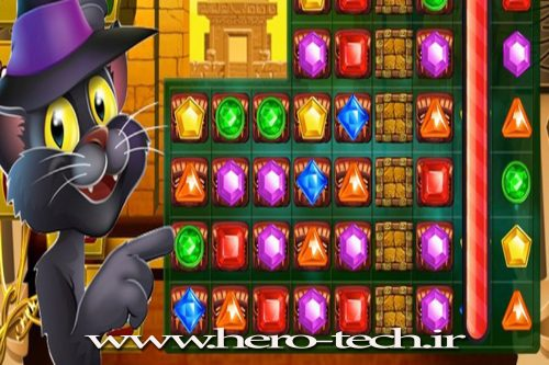 سورس بازی  Treasure Match Pyramid Quest